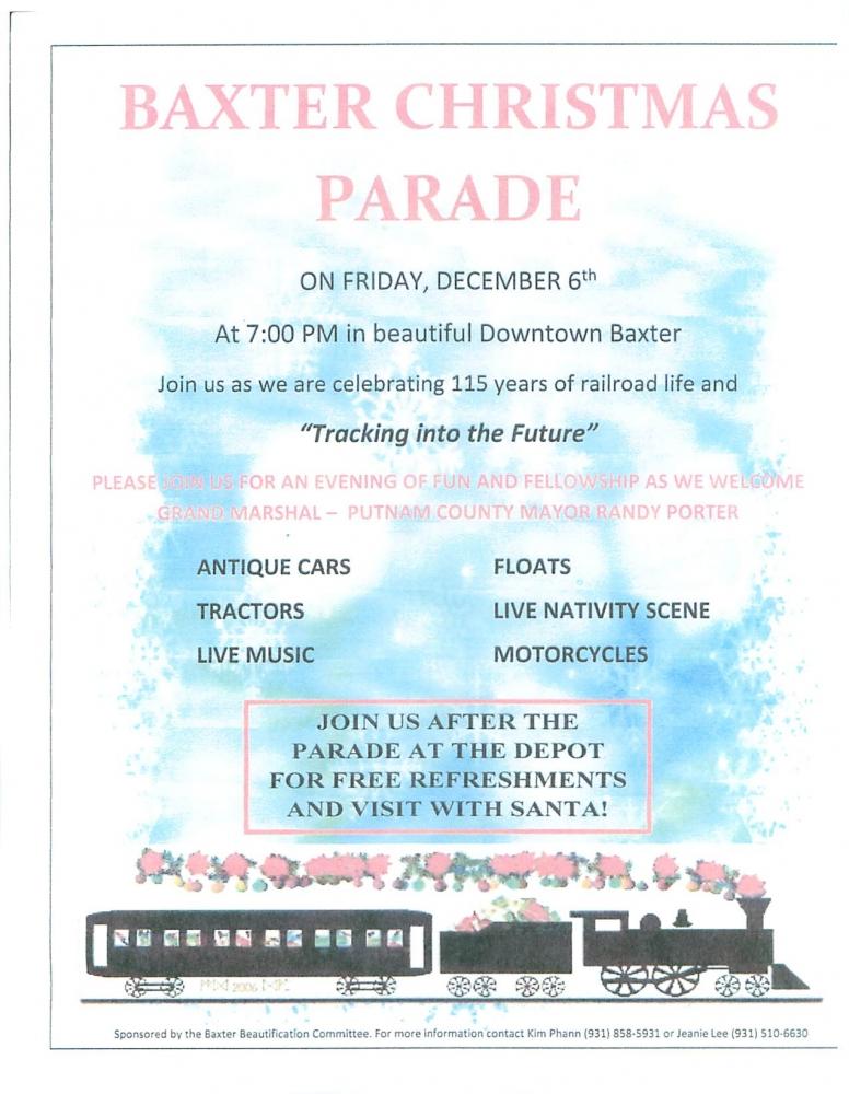 Putnam County Christmas Events 2020 Putnam County Media & Events   Putnam County TN